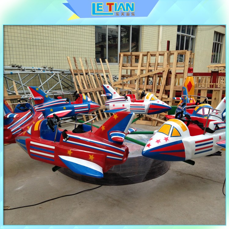 LETIAN good quality Rolling Plane Rides for kids-1