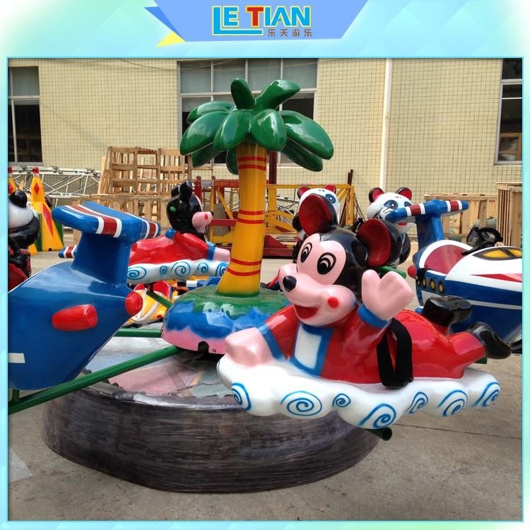 LETIAN good quality Rolling Plane Rides for kids-2