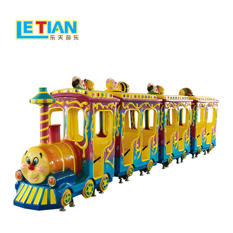 Amusement park train carnival train rides LT-7077B