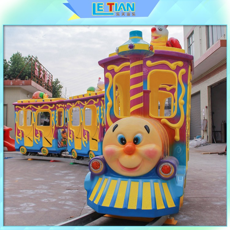 LETIAN Custom trackless train ride manufacturer mall-1