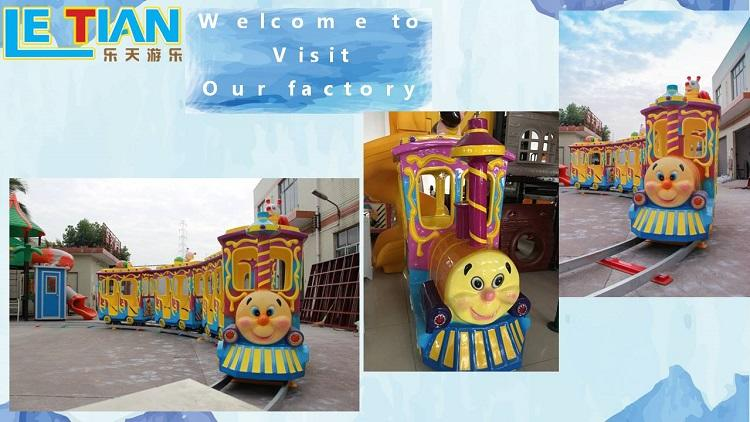 LETIAN Custom trackless train ride manufacturer mall