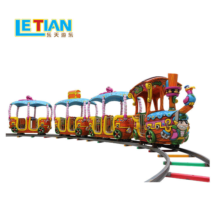New style Pirate train kids orbit train set for sale LT-7077C