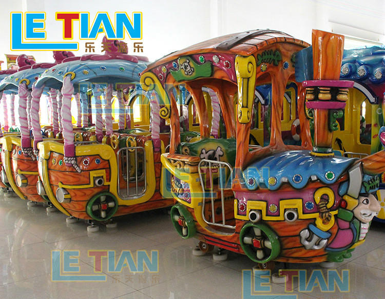 LETIAN High-quality small ride on trains company children's palace