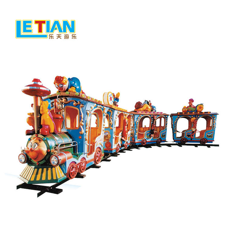LETIAN style trackless train Supply park playground
