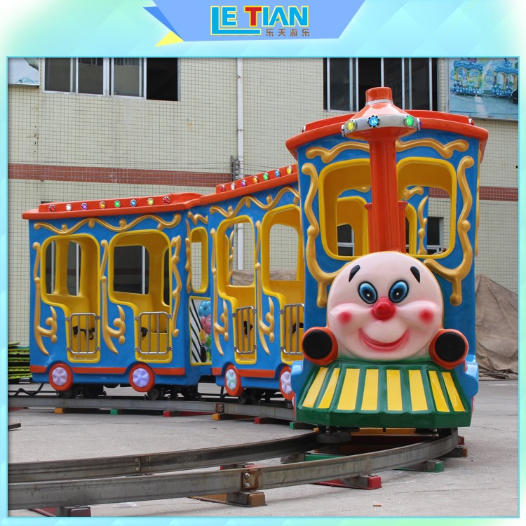 LETIAN style trackless train Supply park playground-1