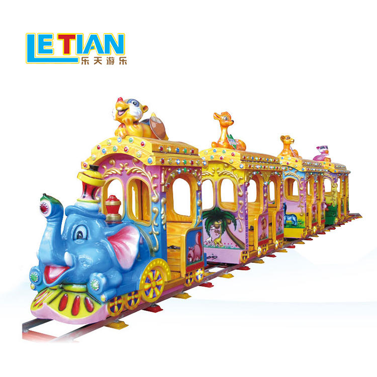 Kids new design elephant electric track train LT-7078B