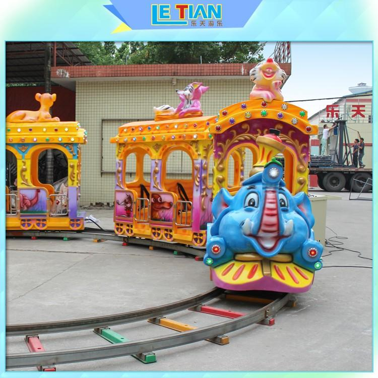 mechanical train amusement park lt7079a for kids mall-1