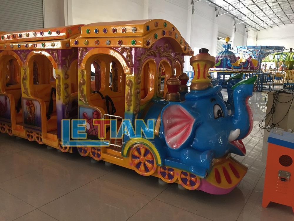 mechanical train amusement park lt7079a for kids mall-3
