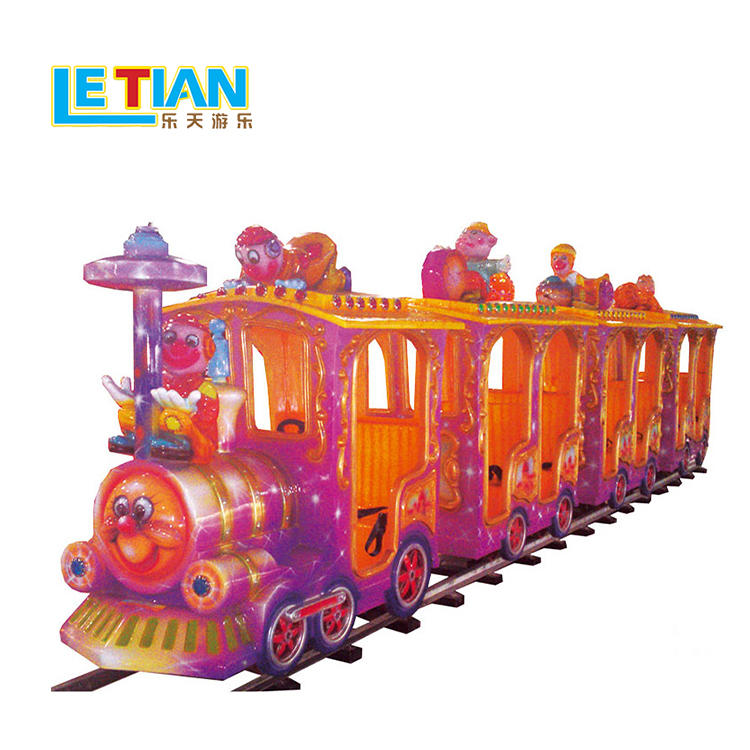 Deluxe electric 14 seats train for amusement park tourist LT-7078C