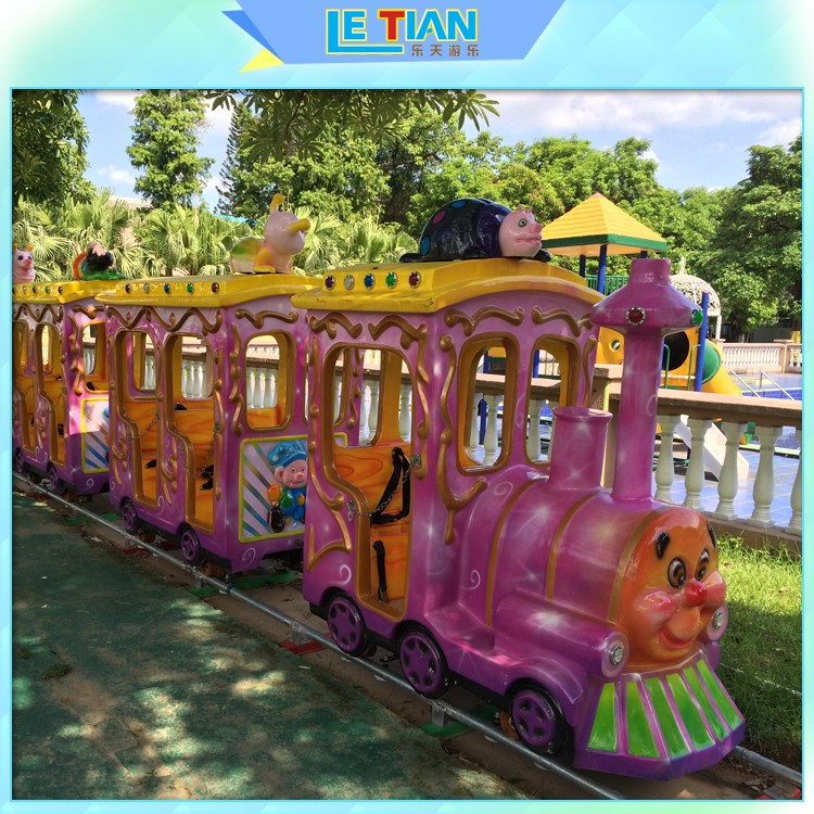 LETIAN New amusement park train for kids park playground-1