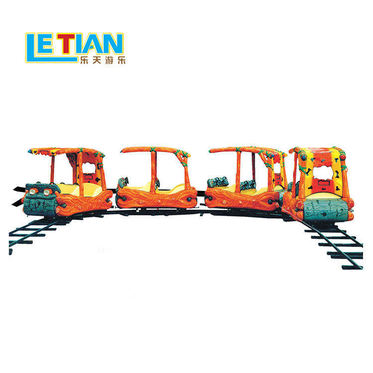 Handcar orbit electric theme park indoor train for kids LT-7080