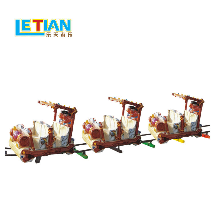 Ancient 8 seats FRP electric train for kids  LT-7081
