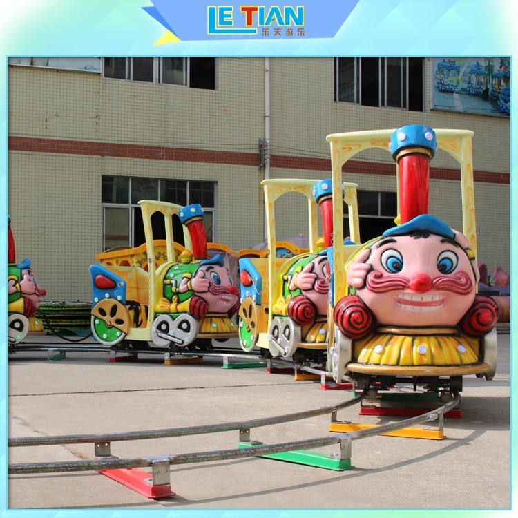LETIAN Wholesale amusement park train rides Supply life squares-1