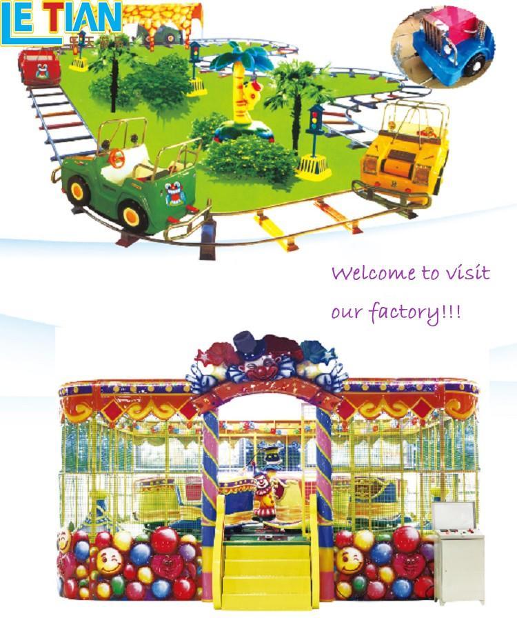 Custom theme park trains for sale lt7086c company children's palace