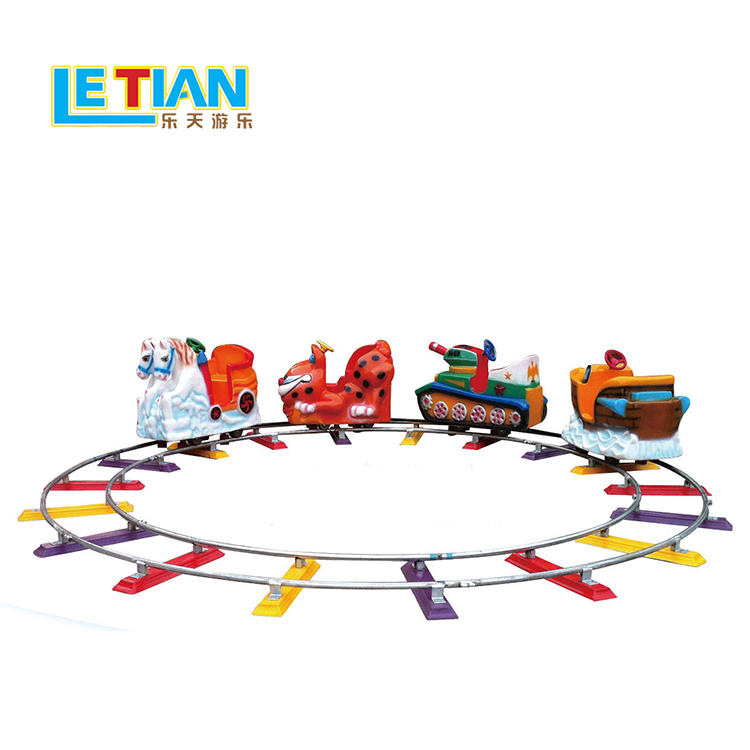 Kids theme park small orbit train colorful design LT-7084