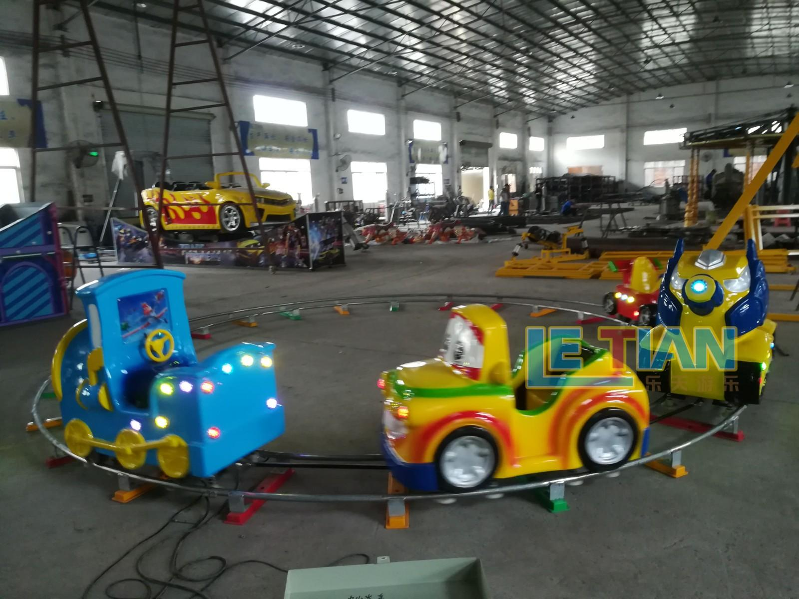 LETIAN Custom trackless train manufacturers park playground-1
