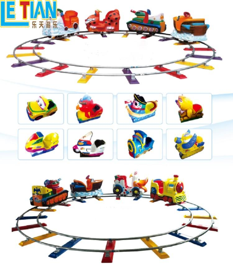 LETIAN Custom trackless train manufacturers park playground-3