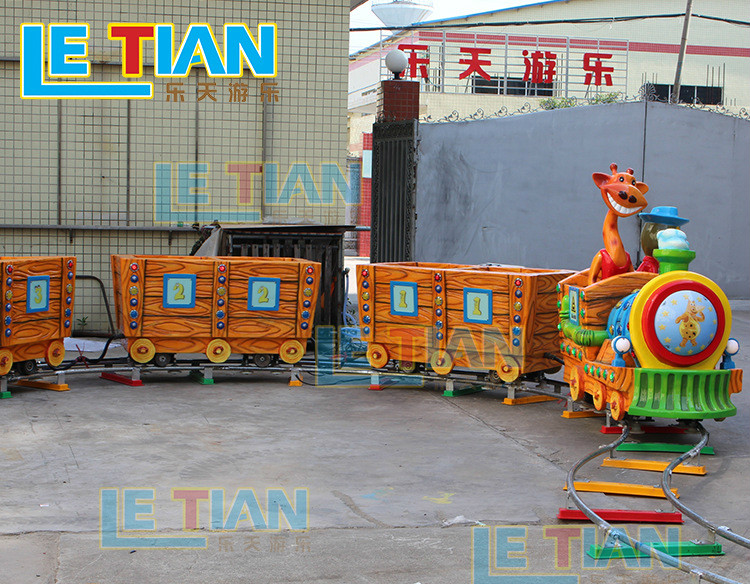 LETIAN mechanical trackless train ride life squares-4