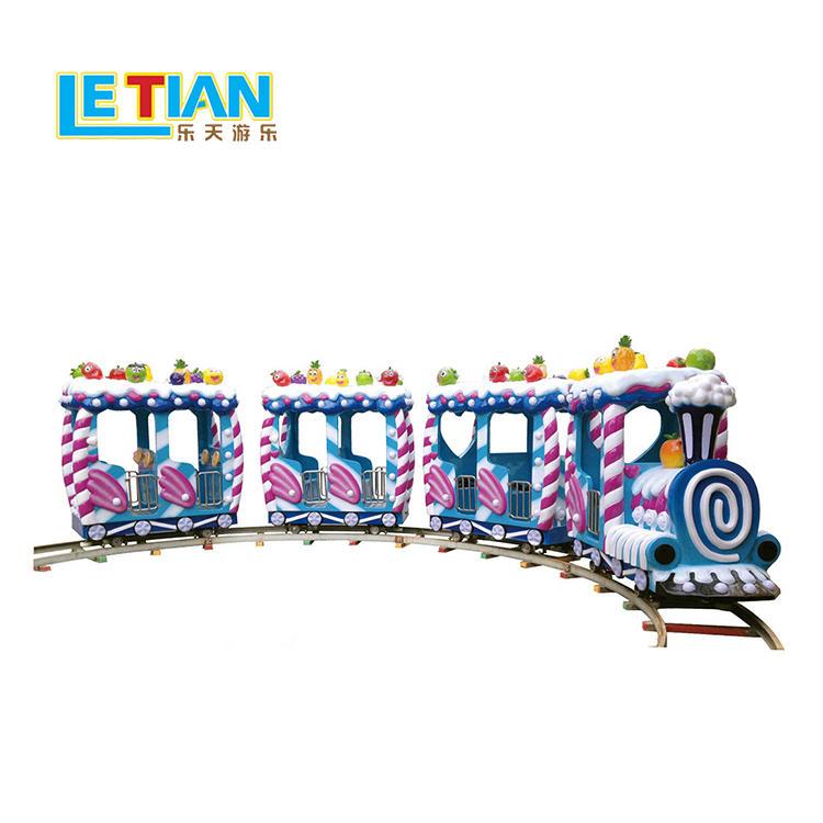 Kids candy train for theme park equipment rides  LT-7086C
