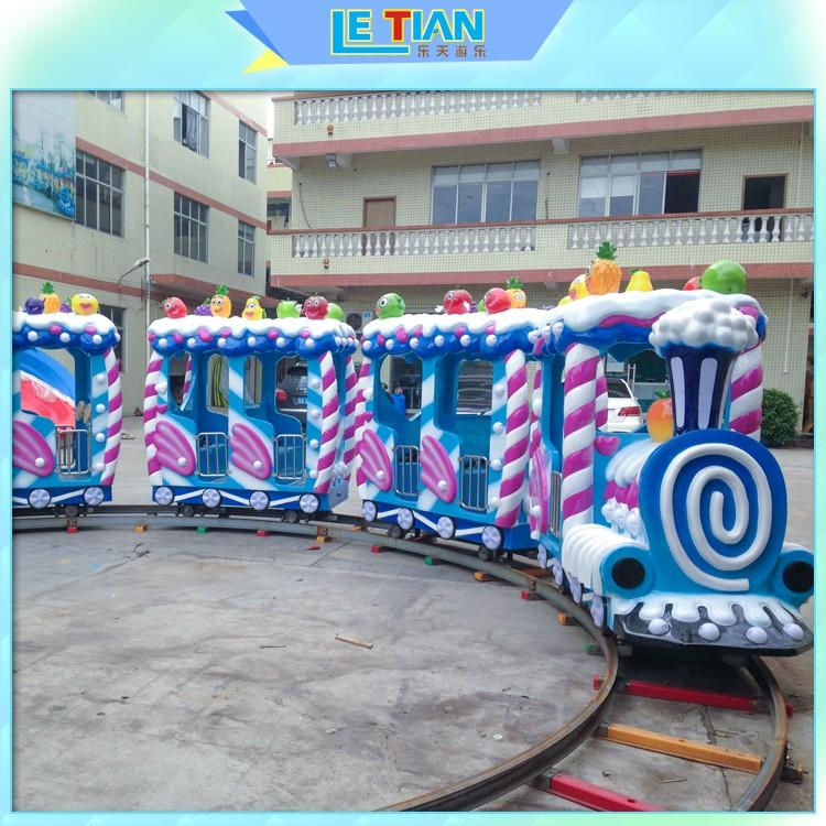 lt7087a carnival train ride for kids park playground LETIAN
