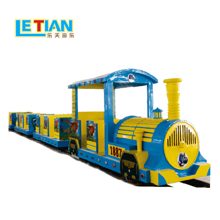 26 seats trackless train for amusement park LT-7087A