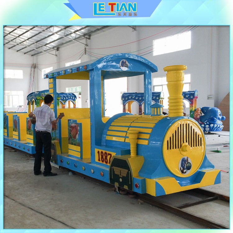 LETIAN sea amusement park train rides for business children's palace-1