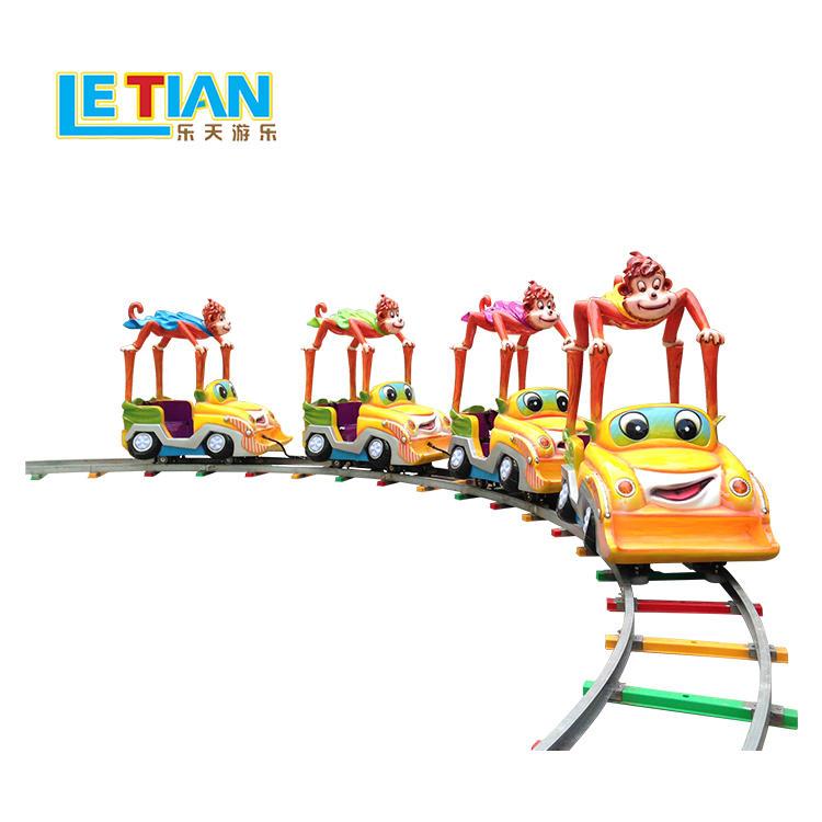 Amusements Park Rides Electric Trains colorful design for kids theme park equipment LT-7087B