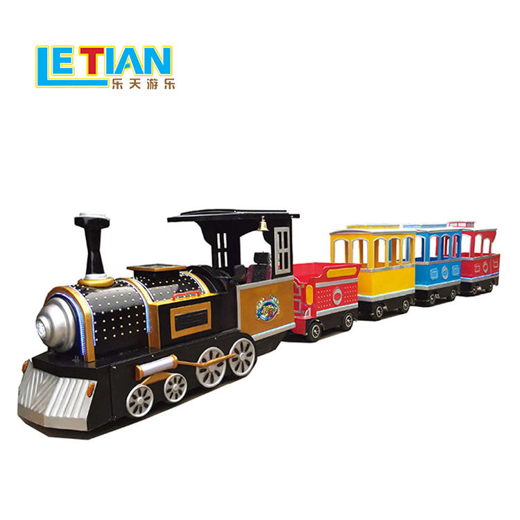 26 seats amusement park rides trackless train LT-7088A