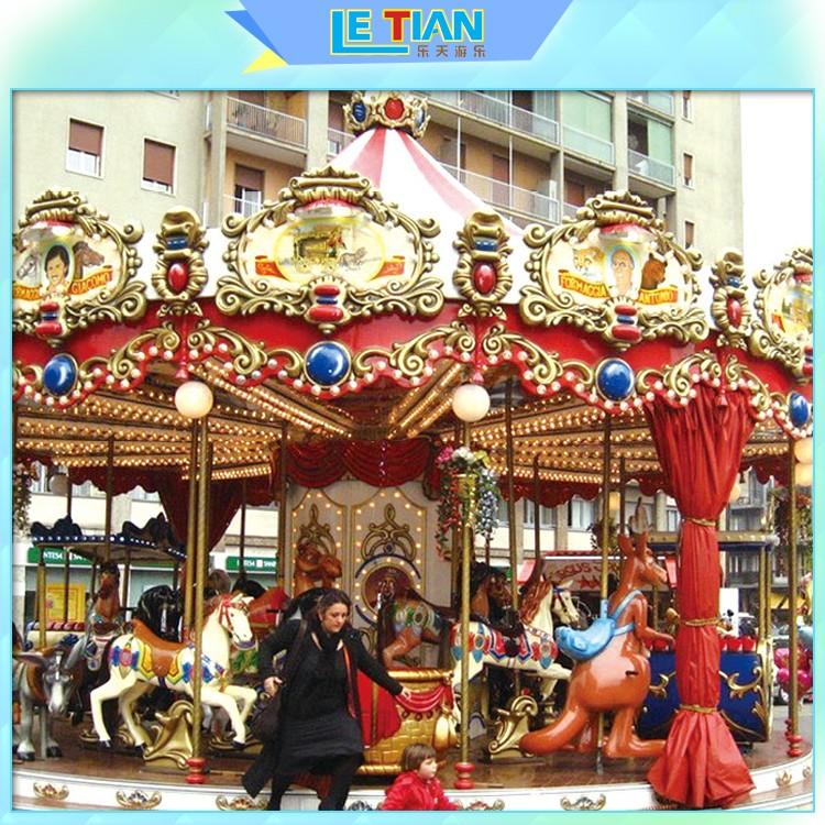 Latest christmas carousel for sale carnival company fairground-1