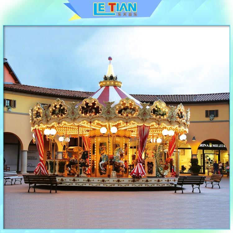Latest christmas carousel for sale carnival company fairground-2