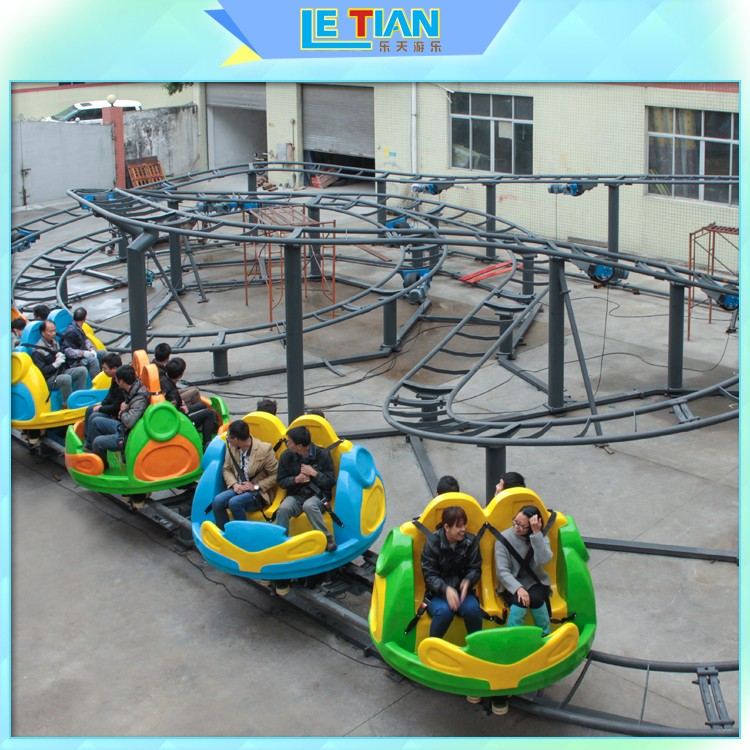 Custom make a roller coaster game and ride it thrill attracts tourists mall-1