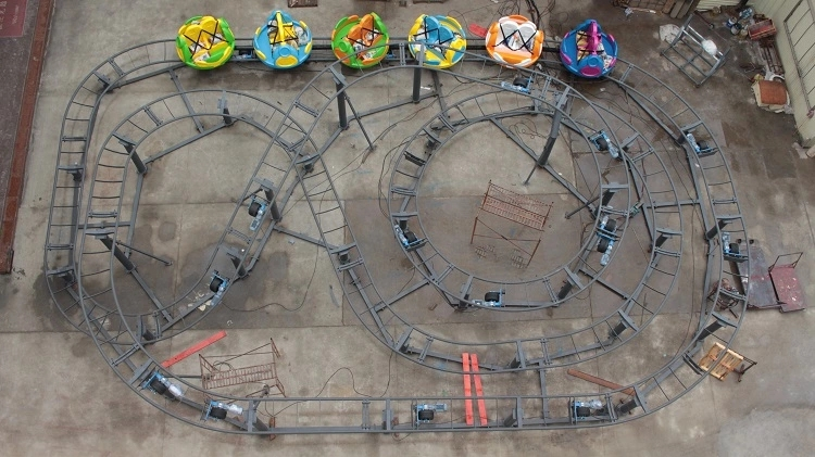 Custom make a roller coaster game and ride it thrill attracts tourists mall-3