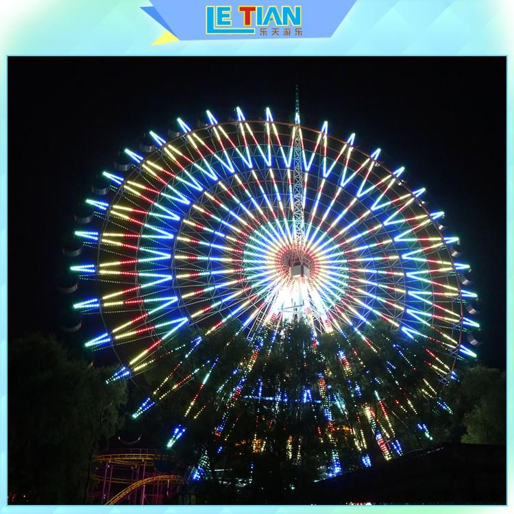 LETIAN safe amusement park ferris wheel made entertainment