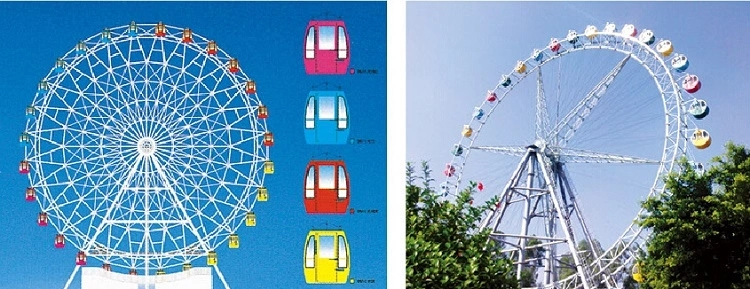 LETIAN safe amusement park ferris wheel made entertainment-2