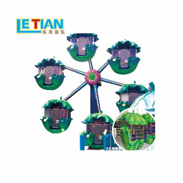 Park design attractive Ferris wheel with 12 seats for kids