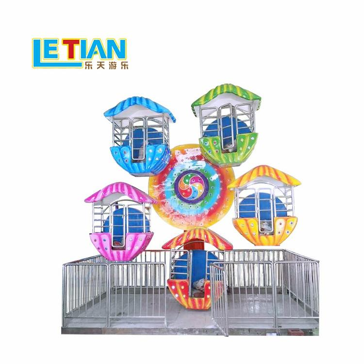 Factory made 12 seats Kids Mini FRP Ferris wheel  LT-7022C
