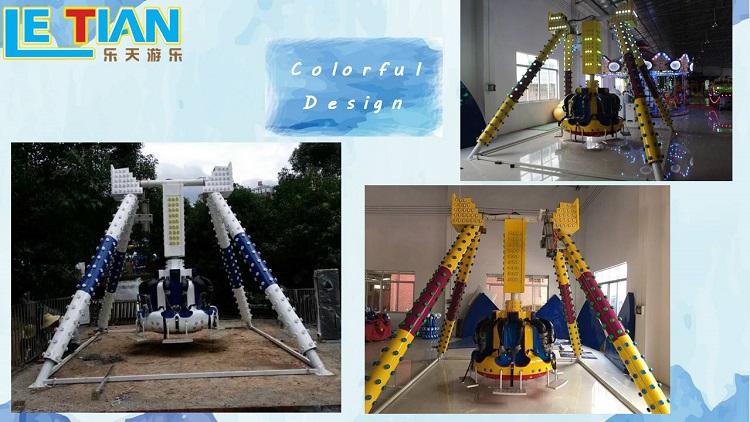 LETIAN lt7015a fun park rides children's palace-3