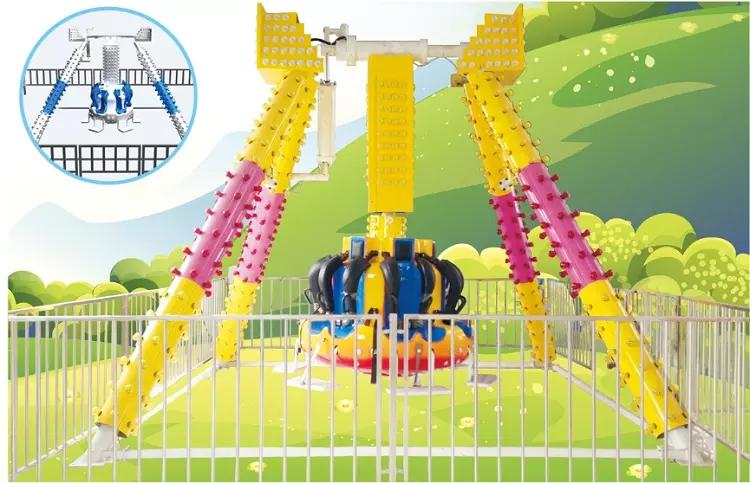 LETIAN lt7015a fun park rides children's palace-2