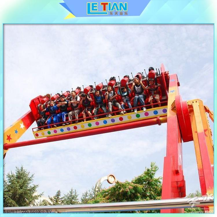 colorful extreme thrill rides sale facility playground
