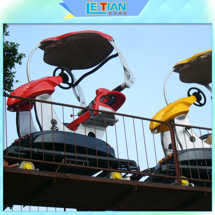 LETIAN sky build my own roller coaster games for kids playground-1