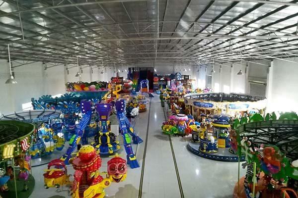 LETIAN surfing spinning roller coaster for children theme park