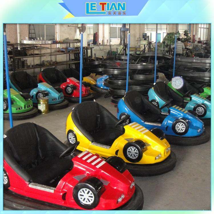 LETIAN Custom bumper cars ride manufacturers amusement park