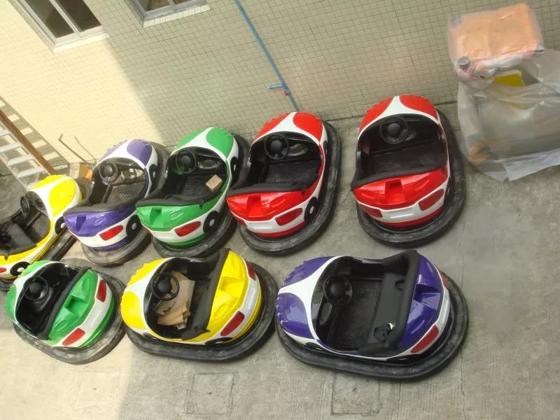 LETIAN round how do bumper cars work for kids entertainment-2