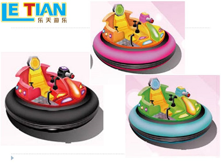 LETIAN car bumper car games factory entertainment-3