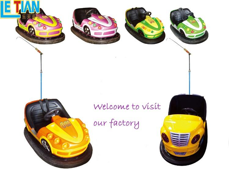 LETIAN Latest bumper car ride manufacturer amusement park