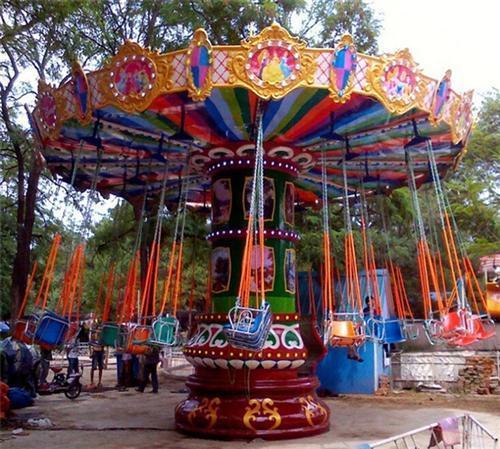 LETIAN flying swing ride carousel zoo-2