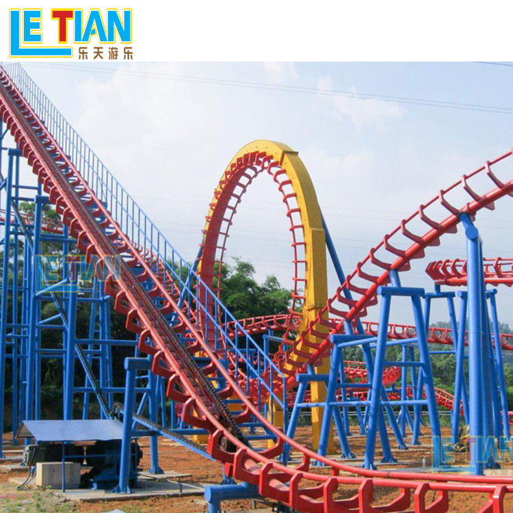 24 seats FRP overlapping roller coaster LT-7009A