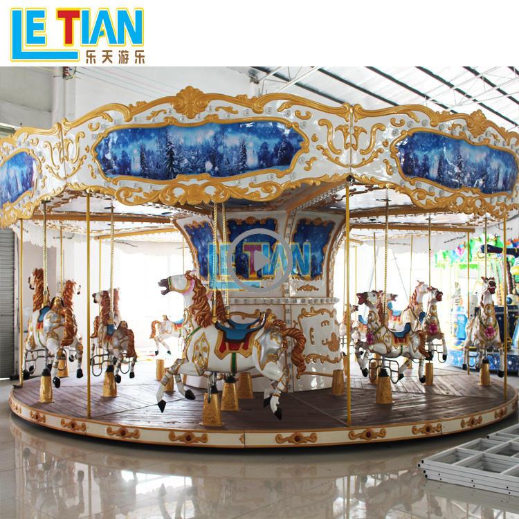 Large 26 seats Carousel Horse Ride  LT-7035B