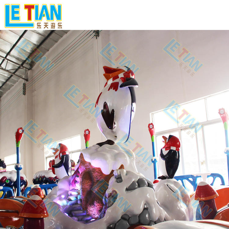 16 seats Snow and ice penguin rotating carnival rides LT-7065B