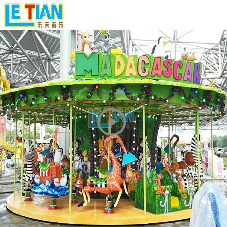 24 seats madagascar carousel horse for kids lt-7036a